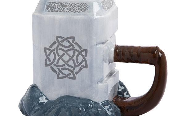 Marvel Thor Mjolnir Ceramic Sculpted Mug