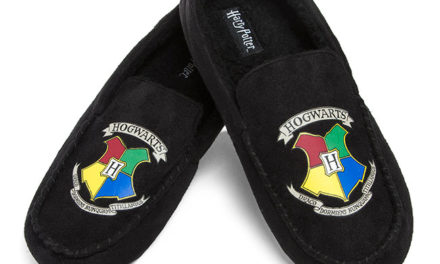 Harry Potter Hogwarts Moccasin Slippers