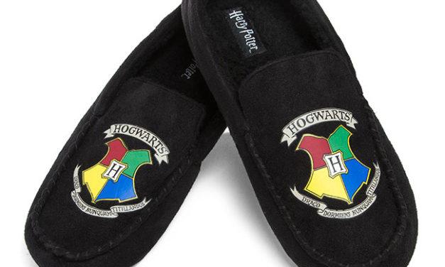 Harry Potter Hogwarts Moccasin Slippers