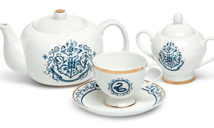 Harry Potter Blue and Gold New Bone China Tea Set