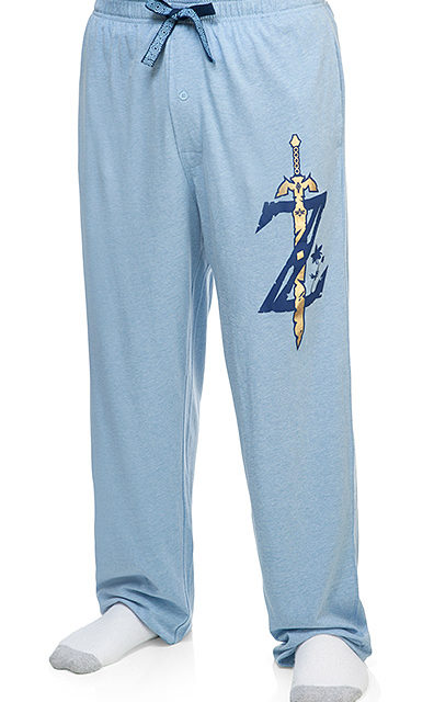 Legend of Zelda Breath of the Wild Sword Lounge Pants
