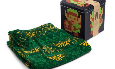 Zelda 8-bit Lounge Pants with Collectors' Tin