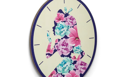 Alice in Wonderland Pocket Watch Wall Art – Exclusive