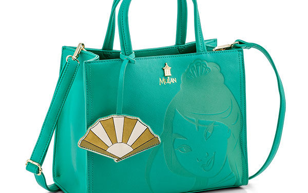 Disney Mulan Debossed Faux Leather Satchel Bag