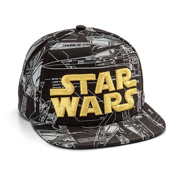 Star Wars X-wing Blueprint Hat