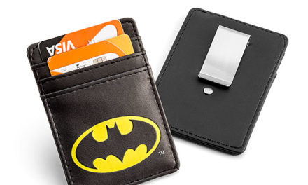 Batman Justice League Card Wallet with Money Clip – Exclusive