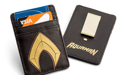 Aquaman Justice League Card Wallet with Money Clip – Exclusive