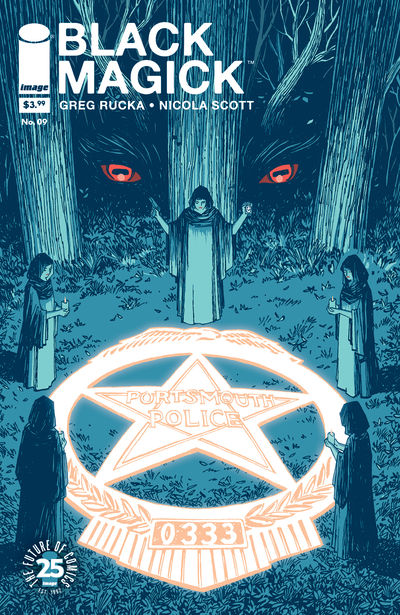 Black Magick #9 (Cover B – Chiang)