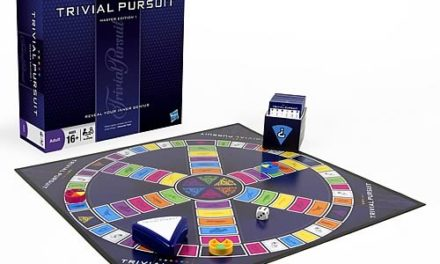 Trivial Pursuit Master Edition Game