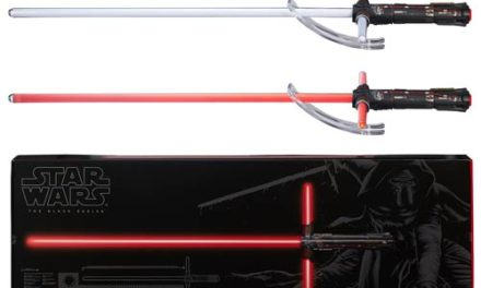 Star Wars: The Force Awakens Kylo Ren Force FX Deluxe Lightsaber Prop Replica – Free Shipping