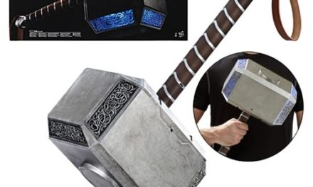 Marvel Legends Thor Mjolnir Hammer Electronic Prop Replica – Free Shipping