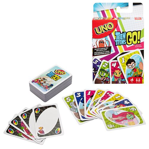 Uno Teen Titans Go Card Game - Another Universe-4923