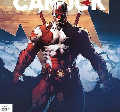 Captain Canuck Year One #1 Virgin Art