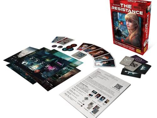 The Resistance 3rd Edition Card Game