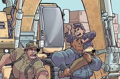 Atomic Robo Spectre of Tomorrow #2 (Cover A – Wegener)