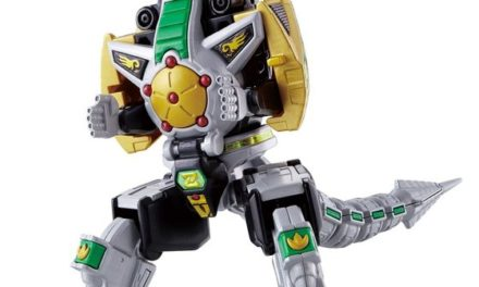 Bandai Shokugan Power Rangers Dragonzord Super Mini-Pla Kit