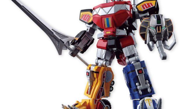 Bandai Shokugan Power Rangers Megazord Super Mini-Pla Set