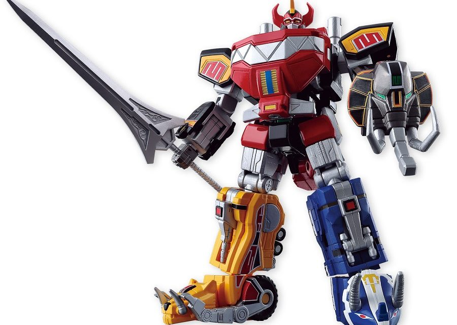 Bandai Shokugan Power Rangers Megazord Super Mini-Pla Set