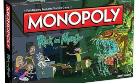 Rick and Morty Monopoly Game