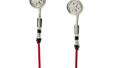 Star Wars Darth Vader Dangling Lightsaber Earrings
