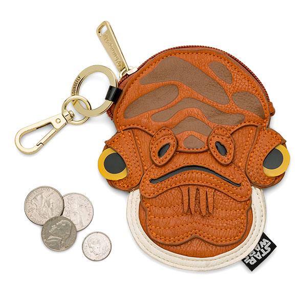 Star Wars Admiral Ackbar Coin Bag