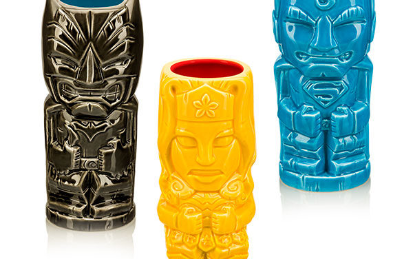 DC Justice League Geeki Tikis