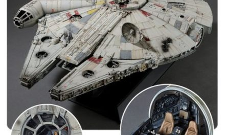 Star Wars: A New Hope Millennium Falcon 1:72 Scale Perfect Grade Model Kit – Free Shipping