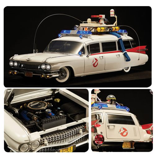 Ghostbusters 1984 ECTO-1 1:6 Scale Vehicle
