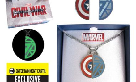 Captain America: Civil War Best Friends Necklace Set – Entertainment Earth Exclusive