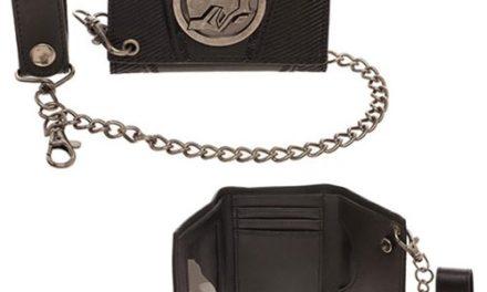 Black Panther Black Chain Wallet