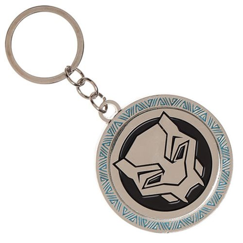 Black Panther Movie Logo Metal Key Chain