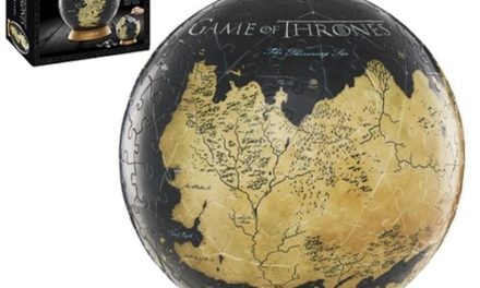 Game of Thrones Westeros and Essos 6-Inch Globe Puzzle