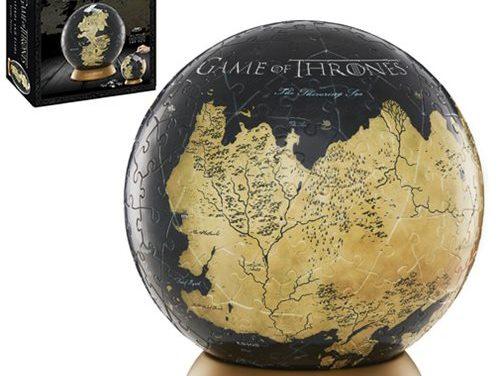 Game of Thrones Westeros and Essos 6-Inch Globe Puzzle