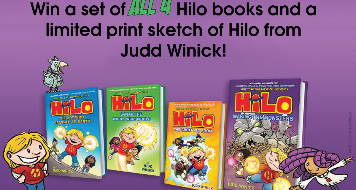 Hilo 4 Book Giveaway