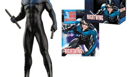 DC Superhero Nightwing Best of Figure with Magazine #18