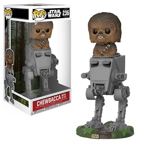 Star Wars Chewbacca in AT-ST Deluxe Pop! Vinyl #236