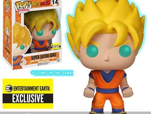 Dragon Ball Z Glow-in-the-Dark Super Saiyan Goku Pop! Vinyl Figure – Entertainment Earth Exclusive