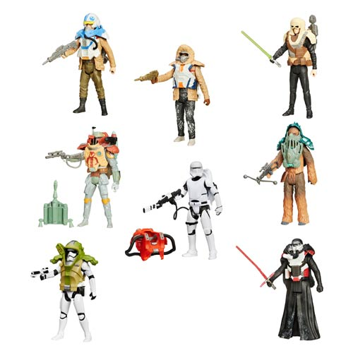 Star Wars: The Force Awakens Armor Series Action Figures Wave 1 Case
