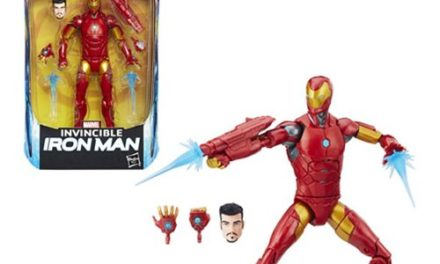 Black Panther Marvel Legends 6-Inch Invincible Iron Man Action Figure
