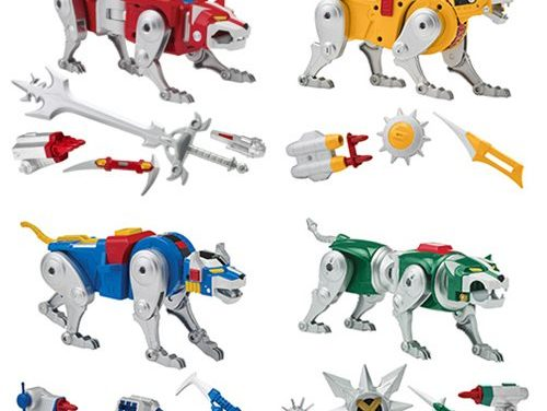 Voltron Classic Combinable Lion Action Figure Set – Free Shipping