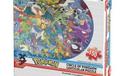 Pokemon Lenticular Circle Pokemon Puzzle