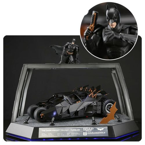 The Dark Knight Trilogy Tumbler 1:12 Scale Remote Control Vehicle Replica Deluxe Pack – Free Shipping
