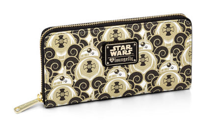 Star Wars BB-8 Clouds Ladies' Zip Wallet