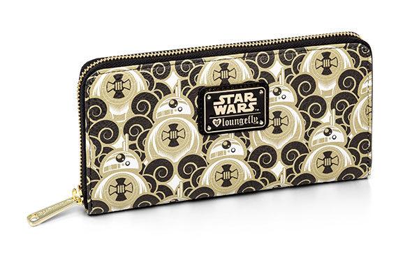 Star Wars BB-8 Clouds Ladies' Zip Wallet