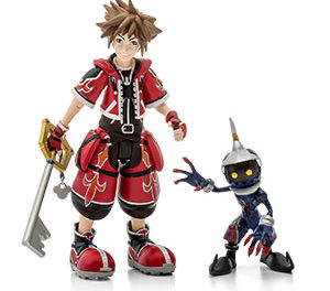 Kingdom Hearts Red Valor Sora Action Figure – Exclusive