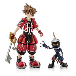 Kingdom Hearts Red Valor Sora Action Figure – Exclusive
