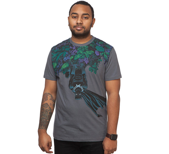 Black Panther Upside Down T-Shirt