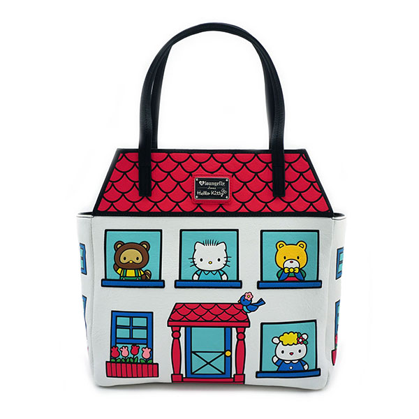 Hello Kitty House Tote Bag