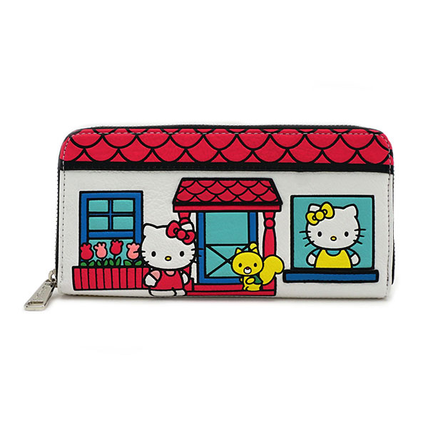 Hello Kitty House Ladies' Wallet
