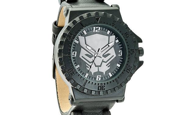 Black Panther Logo Watch